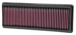 K&N Filtro per l'Aria di Ricambio per Fiat 500 Abarth Turbo 1.4 Litri