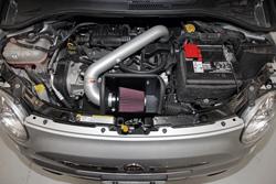 K&N Presa d'Aria sotto il cofano per Fiat 500