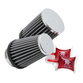 RC-1289 K&N Universal Clamp-On Air Filter
