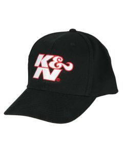 88-12068 K&N Hat; Black/White