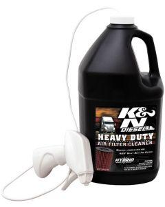 99-0638 K&N Heavy Duty Filter Cleaner, DryFlow 1 gal, 128 oz