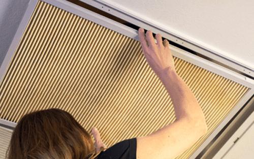 filtro dell'aria domestico