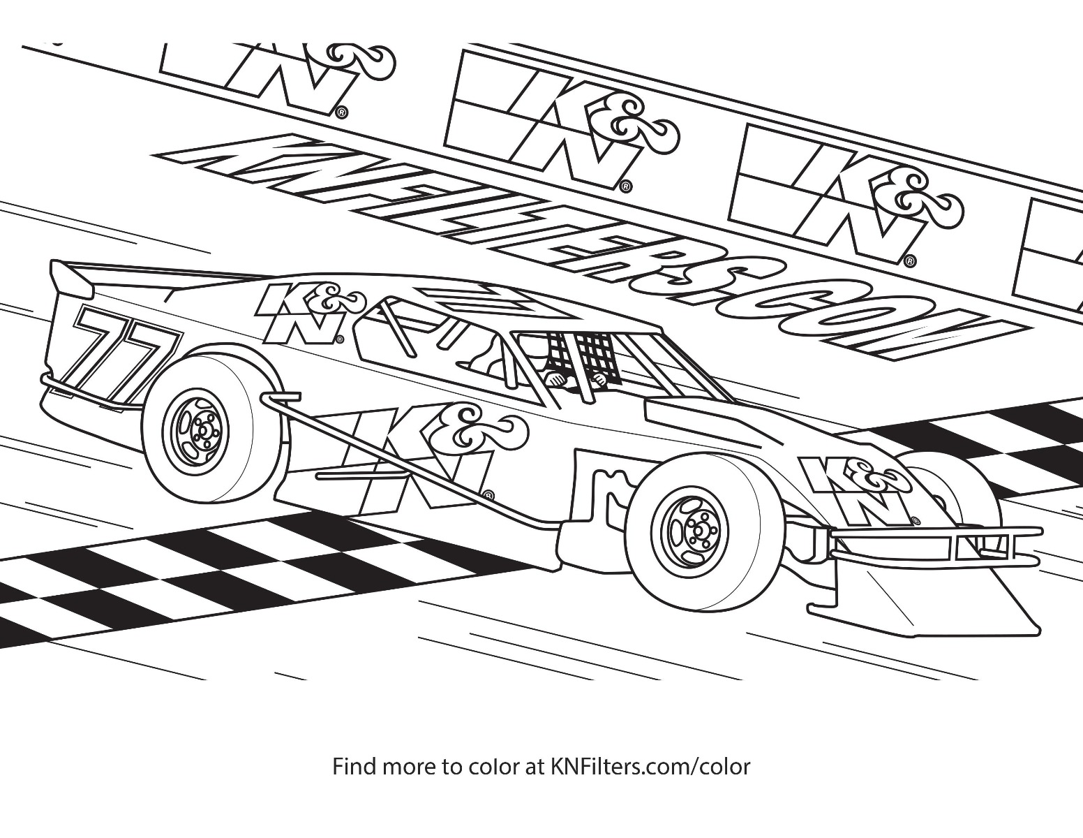 k n printable coloring pages for